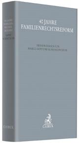 Mitautor in: 40 Jahre Familienrechtsreform (Hrsg. Götz/Schnitzler), 2017